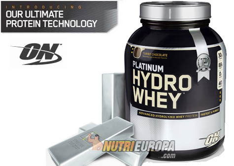 NutriEuropa Blog ☆ » PLATINUM HYDRO WHEY de OPTIMUM NUTRITION
