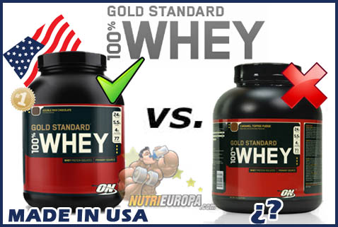100% Whey ON original USA en NutriEuropa.com
