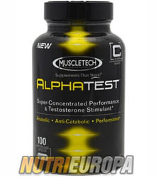 ALPHATEST [100 CAPS] • MUSCLETECH