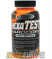 HEXATEST HARDCORE [168 CAPS] • MUSCLETECH