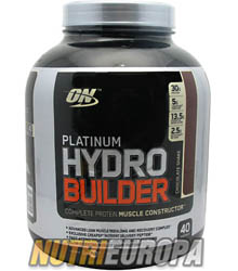 PLATINUM HYDROBUILDER [2Kg] • OPTIMUM NUTRITION