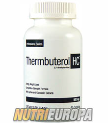 THERMBUTEROL HARDCORE [60 CAPS] • SEI PHARMACEUTICALS